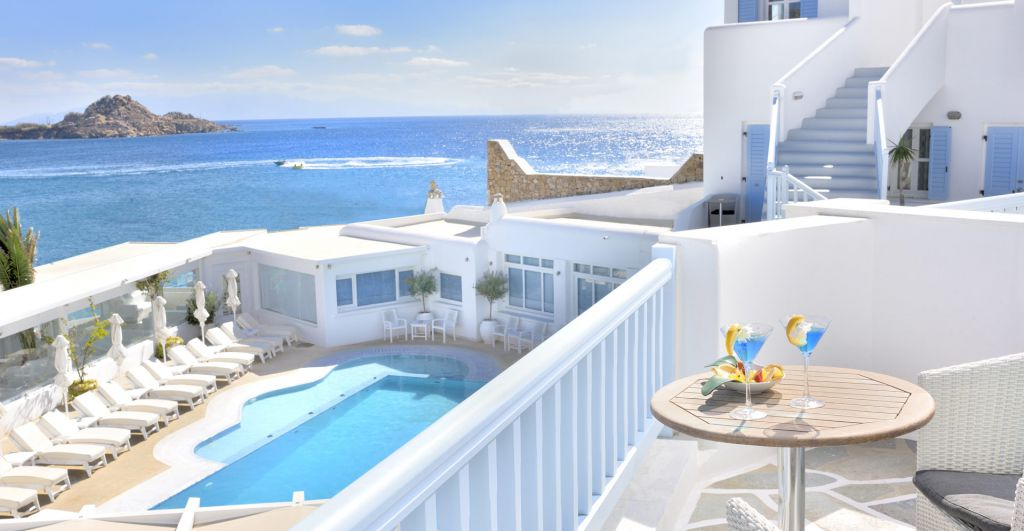 Executive Doube Room with Sea View in Mykonos